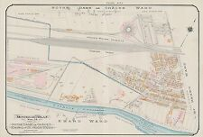 1913 CHARLES E. GOAD, MONTREAL, CANADA, ST. CLOTILDE R.C. CHURCH, COPY ATLAS MAP