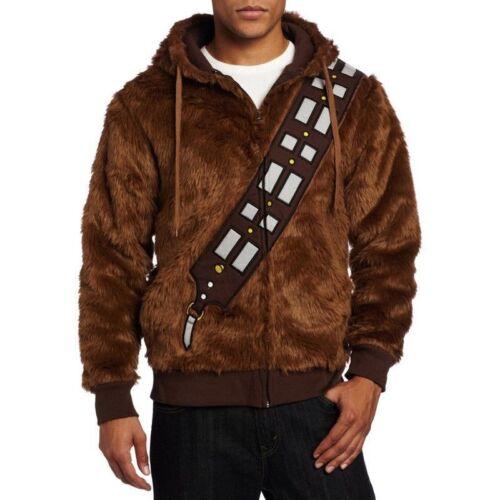 """STAR Wars /""""Io sono Chewie Chewbacca/"""" Peloso Costume Cosplay Felpa Con Cappuccio Cappotto Felpa"""