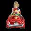 thumbnail 3 - Old World Christmas SANTA IN ANTIQUE CAR (40302)N Glass Ornament w/Box