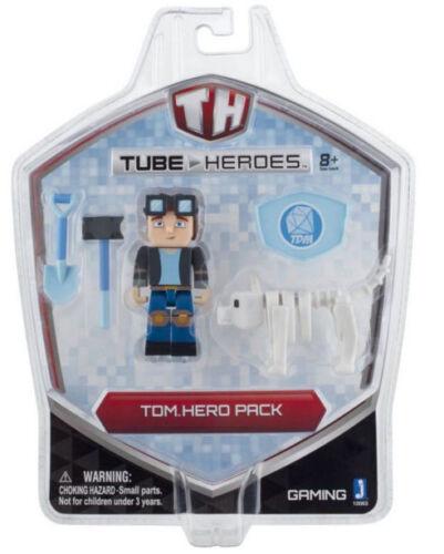 Tube Heroes TDM Hero Pack with Grim /& Tools Set DanTDM Dan Kid Game New