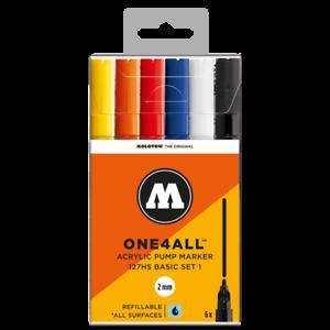 Molotow 127 All4one Basic Set 1 Premium Paint Pens For Sale Online Ebay