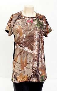 Under-Armour-Realtree-Xtra-Camo-Short-Sleeve-Hunting-Shirt-Women-039-s-NWT