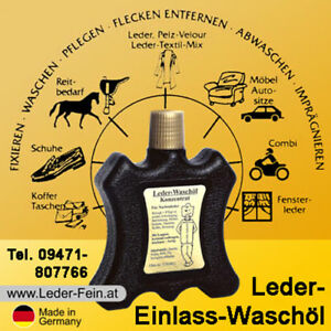 Details zu Lederpflege Lederpflegeöl Leder Pflege und Reinigung Lederjacke Möbel