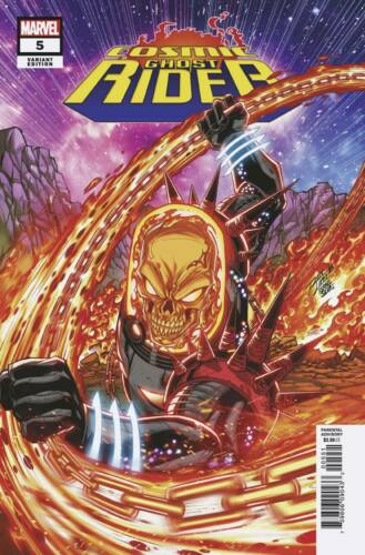 COSMIC GHOST RIDER #5 MARVEL 2018 LIM VARIANT COVER STOCK IMAGE