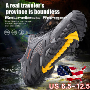 New-Men-039-s-Breathable-Outdoor-Climbing-Water-Shoes-Aqua-Waterproof-Hiking-Shoes