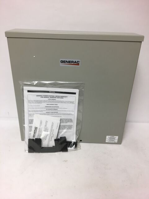 Generac 200 Amp Outdoor Manual Transfer Switch For Sale