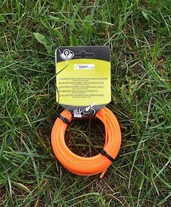 m hfaden profi schneidfaden orange 2 4 mm 15m viereckig. Black Bedroom Furniture Sets. Home Design Ideas