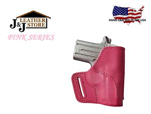 Holsters Fine J&j Ruger Sr9c Sr40c Compact Owb Belt Carry Formed Premium Leather Holster Holsters, Belts & Pouches