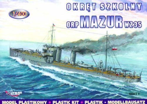 Mirage Hobby 400201-1:400 Torpedoboot Mazur 1935