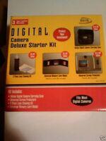 10 Digital Concepts Digital Camera Starter Kits: Camera Case +cleaning Kit +