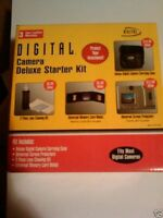 10 Digital Concepts Digital Camera Starter Kits: Camera Case +cleaning Kit +