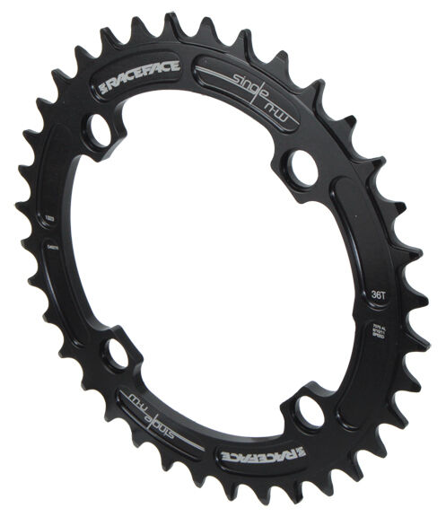 104mm BCD 36t Red Race Face Single Narrow Wide 1x MTB Chainring