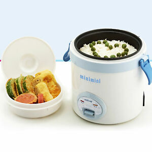 kitchen electric rice cooker warmer for both cooker lunch box bento single life ebay. Black Bedroom Furniture Sets. Home Design Ideas