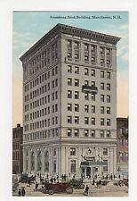 USA, Amoskeag Bank Building, Manchester N.H. Postcard, A823