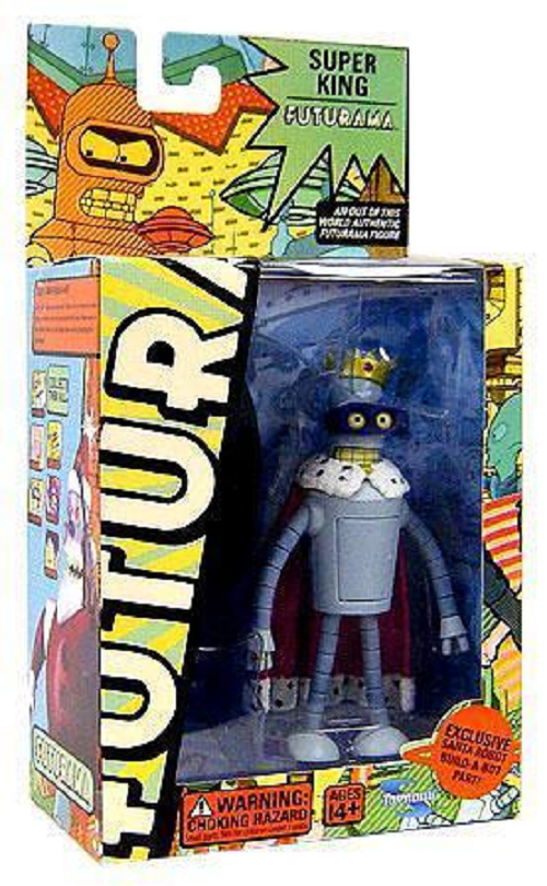 Futurama Series 5 Super King Figure by Toynami