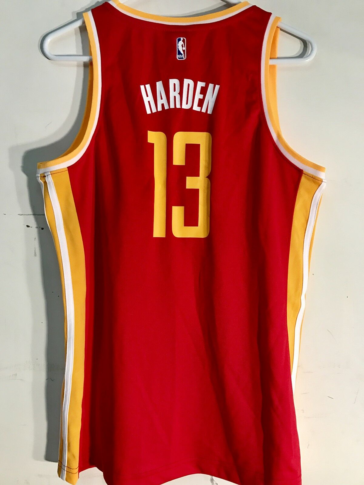 new product 77673 feca2 adidas Women's NBA Jersey Houston Rockets James Harden Red Alt Sz S