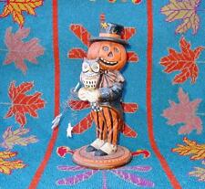 Bethany Lowe Halloween Pumpkin Head with Owl  Pam Schifferl