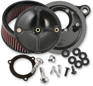 S/&S CYCLE 170-0165 STEALTH AIR CLEANER FOR 66MM THROTTLE BODIES