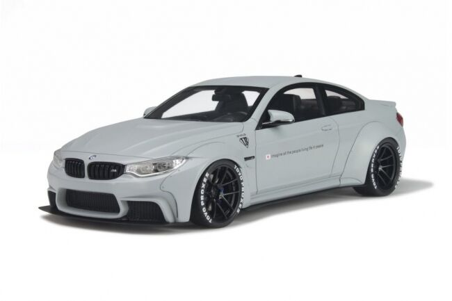 GT Spirit BMW LB PERFORMANCE M4  Liberty Walk  grigio 1:18*Nuovo Item