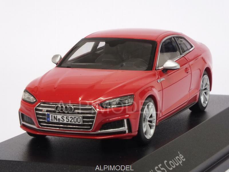 S5 Audi Coupe Red 5011615431 I-SCALE 43 1 Promo Audi Misano