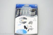 Vivanco Video Scart 4 x Cinch Kabel gold RGB Videokabel Cinchkabel Scartkabel