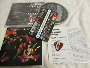 STEVE-VAI-JOR-SATRIANI-G3-JAPAN-LTD-CD-OBI-guitar-pick