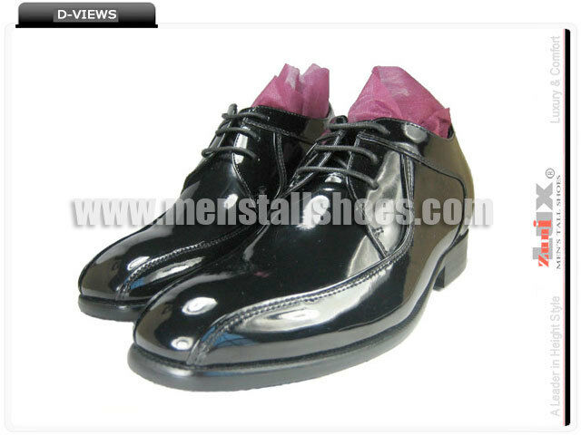 c201b9e8f53 ... Height Increasing Tuxedo shoes With Hidden Heels for Groom