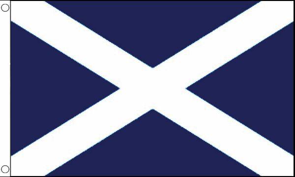 3u0027 X 2u0027 St Andrews Cross Flag Dark Blue Scotland Scottish Banner