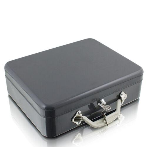 300mm 30cm große Transportkassetten Geldkassetten Kasse Abschließbar aus Stahl