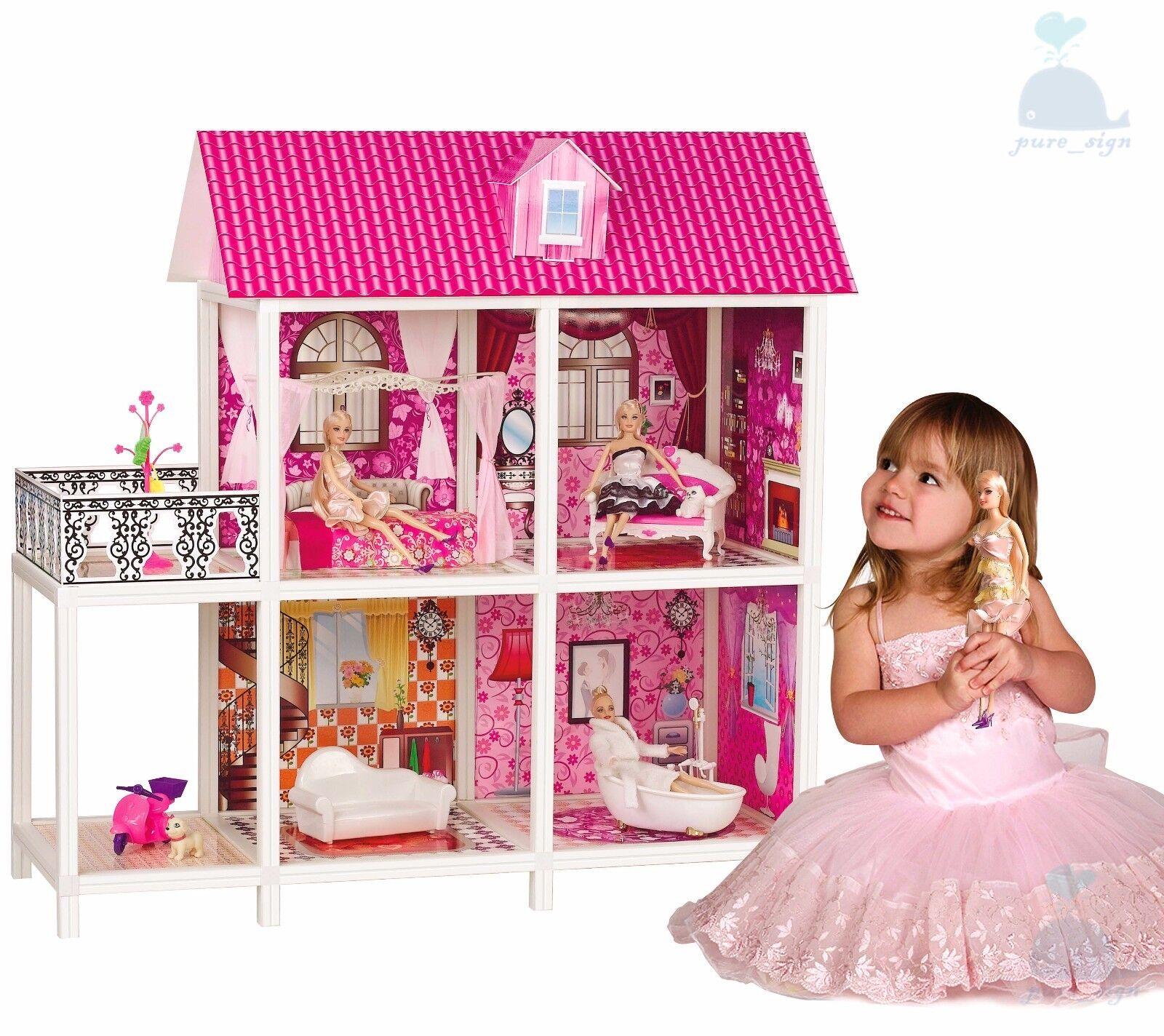 CAMPIONE la mia Piccola principessa  Villa Casa delle Bambole Mobili e Bambole Barbie Style 3