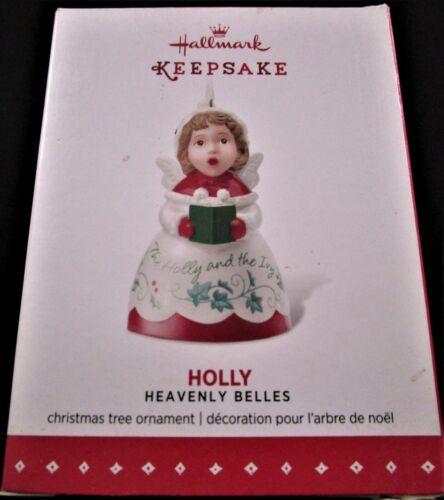 MIB 2015 Hallmark Keepsake Ornament ~ HOLLY ~ Heavenly Belles