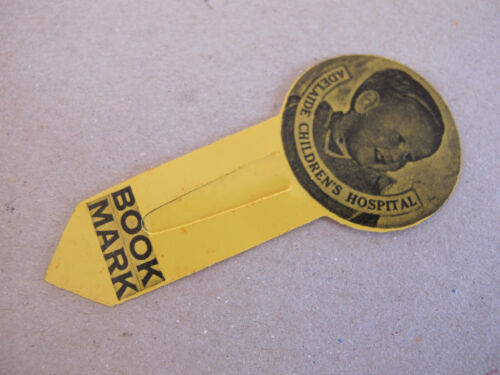 Adelaide Childrens Hospital Bookmark Celluloid