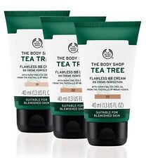 THE BODY SHOP Tea Tree Flawless BB Cream (02) Medium 40ml *FAST POST* New Pack
