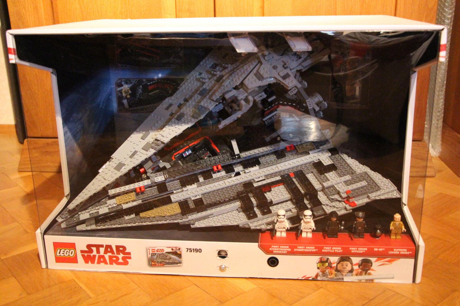 LEGO SCHAUKASTEN - DIORAMA: Star Wars 75190 - Sternenzerstörer - Star Destroyer