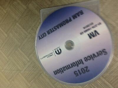 2015 Dodge RAM PROMASTER CITY Service Information Repair Service Manual CD