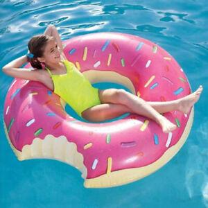 Bouée Gonflable Donut 863009 Détails Tube Plage Sur Longue Piscine Chaise 107cm Flotteur CoWerdxB