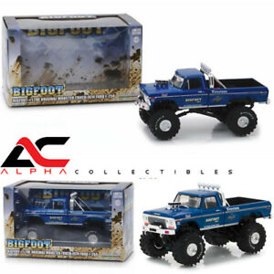 GREENLIGHT-86097-1-43-1974-FORD-F-250-034-BIGFOOT-034-1-BLUE-MONSTER-TRUCK