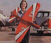 "Model Airplane Plans (UC): Veco THUNDERBIRD II 56""ws Stunt for .29-.35  (Palmer)"