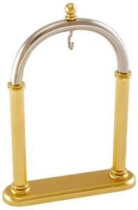 Woodford-Clasico-Arco-laton-y-cromo-reloj-de-bolsillo-Soporte-1510