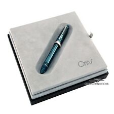 Omas 360 Vintage Turquoise Demonstrator Limited Edition Rollerball Pen #9/96