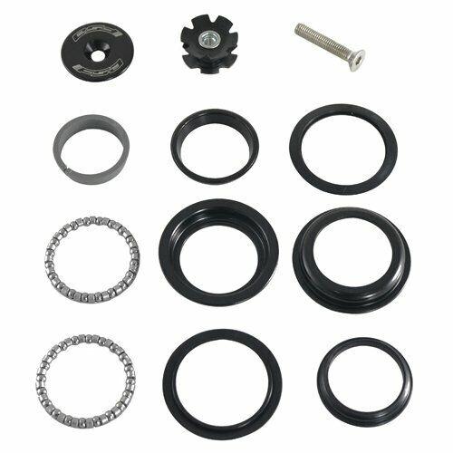 "FSA No.10 Internal//ZS style Bike Headset 1 1//8/"" 44mm Threadless Black"