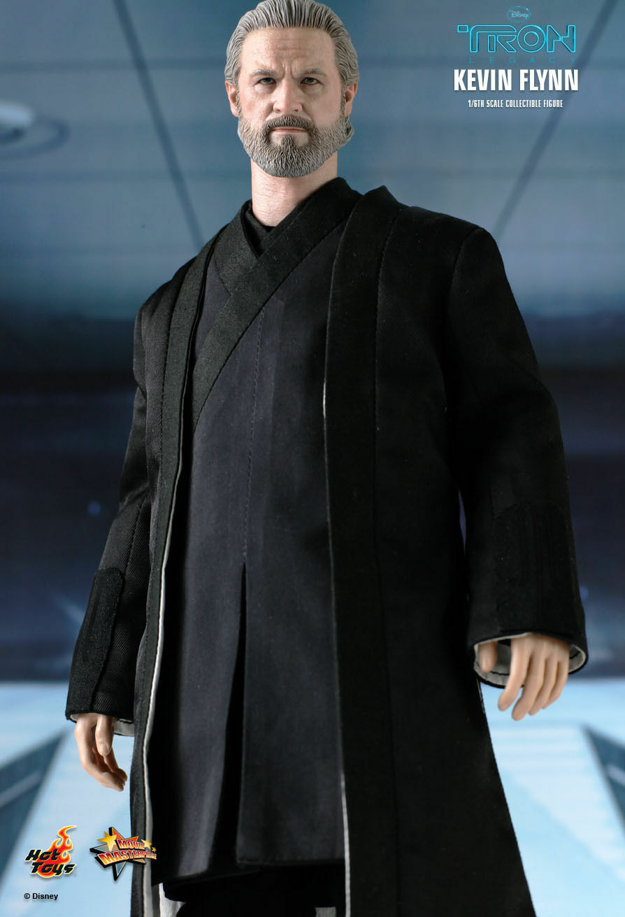 New TRON Legacy 1 6 Figure Hot Toys hottoys Kevin Kevin Kevin Flynn f37090