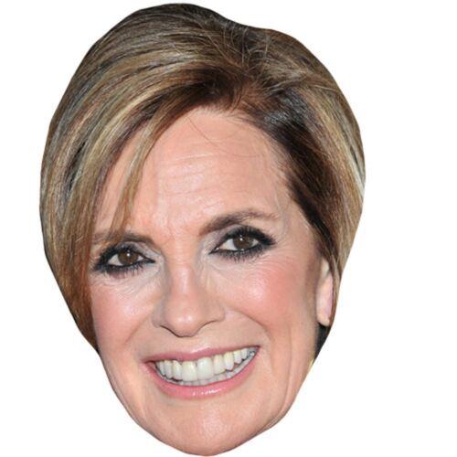 Card Face and Fancy Dress Mask Linda Grey Celebrity Mask