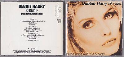 DEBBIE HARRY BLONDIE - ONCE MORE INTO THE BLEACH CD 1988 CHRYSALIS VK 41658