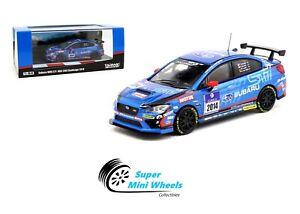 Tarmac-Works-1-64-Subaru-WRX-STI-NBR-24H-Challenge-2014-Blue