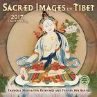 Sacred Images of Tibet 2017 Wall Calendar Thangka Meditation Paintings and Text