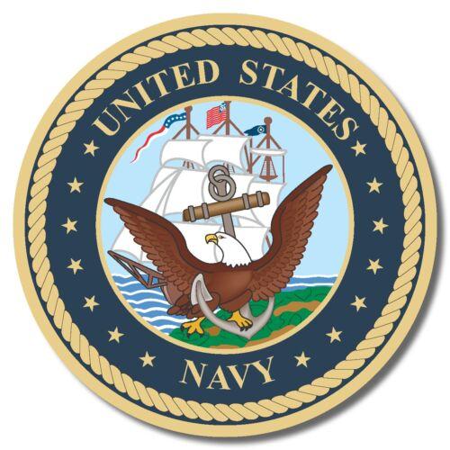 US Navy USA sticker decal white gloss high grade vinyl