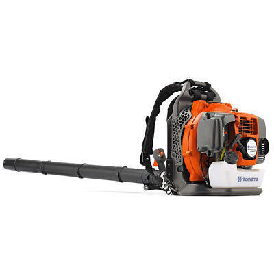 New Husqvarna 350BT 50cc 2 Cycle Gas Powered Leaf Grass Backpack Blower 180 Mph