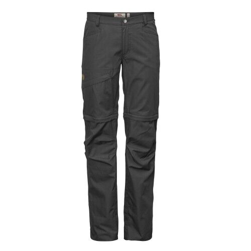 Fjällräven Daloa Shade Zip-Off Trousers W dark grau DaSie Wanderhose Dunkelgrau