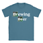 Brewing Beer Mens T-Shirt Funny Breaking Bad Parody Present Gift For Dad Uncle